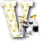 Oh my Alfabetos!: Alfabeto musical con batería.