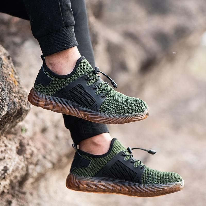 Us 59 99 47 Off Hiking Steel Toe Work Safety Shoes Mesh Anti Slip Shoes Men S Shoes From Shoes On Banggood Com Steel Toe Shoes Steel Toe Work Shoes Safety Shoes