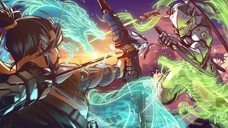 Genji Hanzo Album On Imgur Overwatch Wallpapers Overwatch Genji Overwatch Hanzo