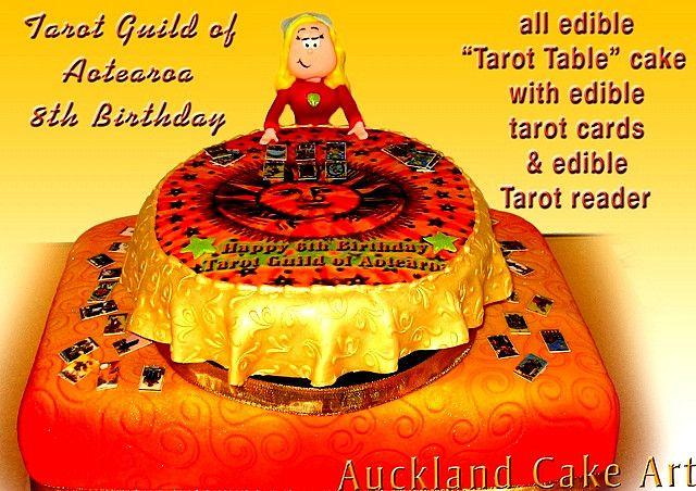 Tarot Reader Table Birthday Cake Tarot Tarot Cards And Tarot Readers