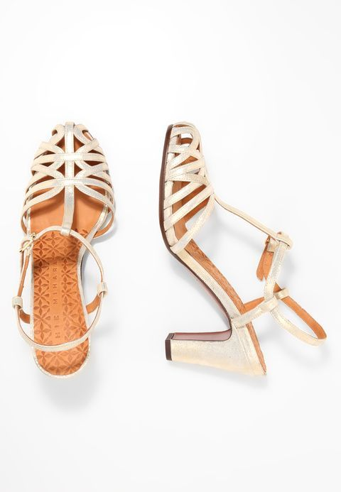 Chie MiharaQUENU - High heeled sandals - cyprus gold pBKeO1