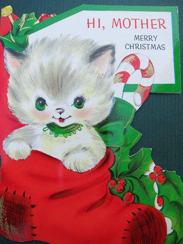 Vintage 1940's/1950's UNUSED Ambassador Christmas Card - Mother | eBay