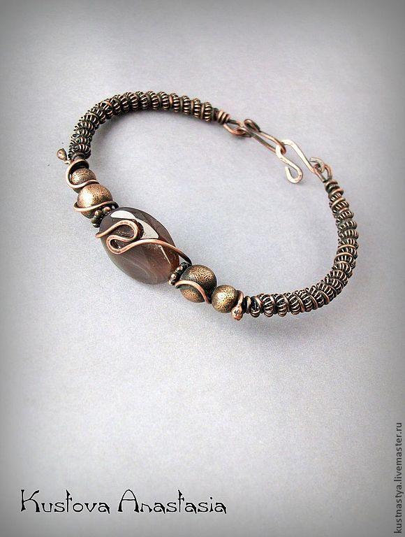 Kustova Anastasia | Wire Jewelry - Bracelets | Pinterest | Kupfer ...
