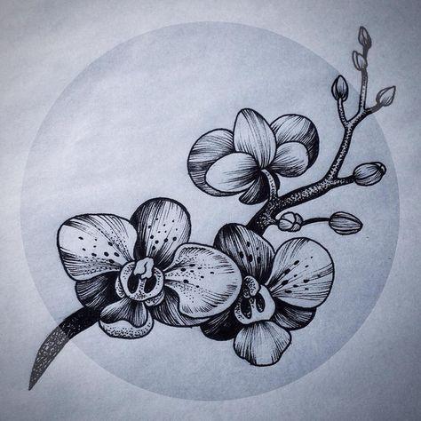 google tatouages pinterest tatouage tatouage orchidee et. Black Bedroom Furniture Sets. Home Design Ideas