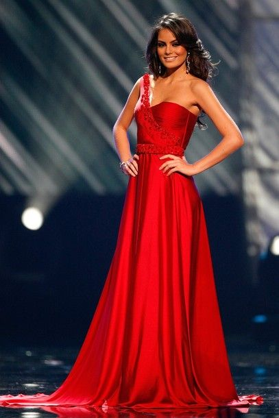 Miss Mexico - She went on to win Miss Universe...so gorgeous ...