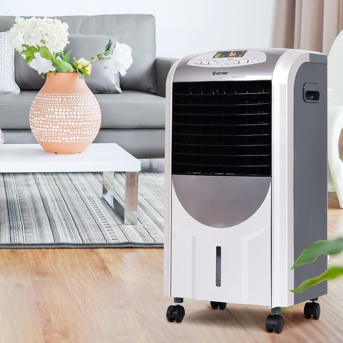 Portable Air Cooler Fan And Heater Humidifier With Images Air Cooler Fan Portable Air Cooler Air Cooler