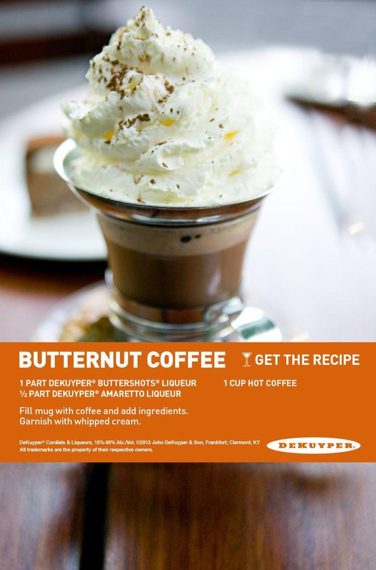 Butternut coffee drink recipe dekuyperusa coffee drink