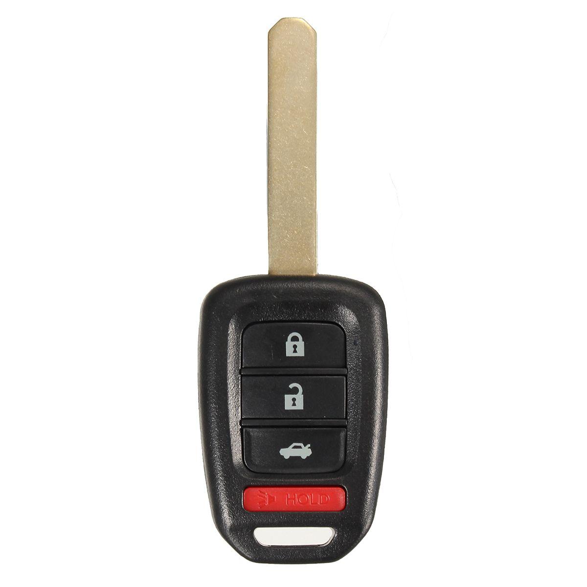 4 Botones Control remoto Cubierta de llave Shell Caso