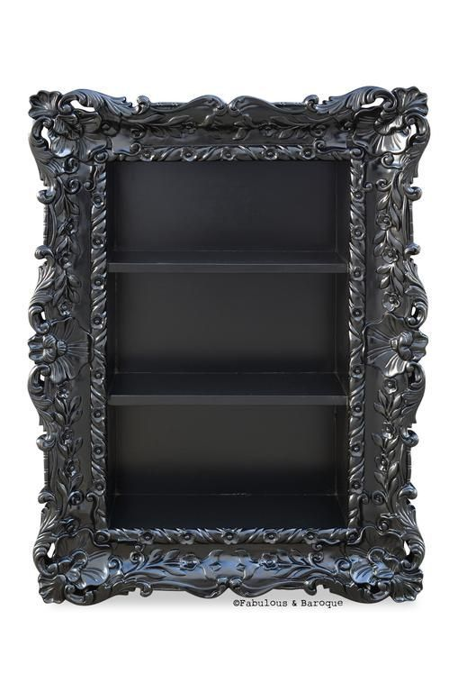 Felicia Wall Mounted Etagere - Black