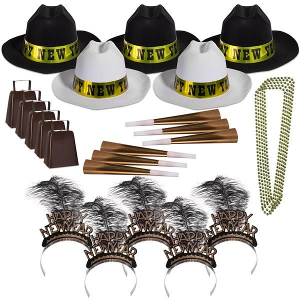 Western Nights New Year Party Kit for 50 (With images ...