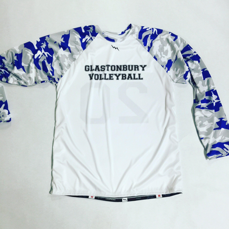 Long Sleeve Volleyball Jerseys Volleyball Jerseys Lacrosse Shirts Custom Team Apparel