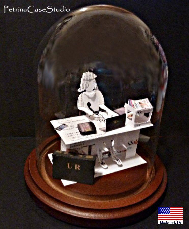 Business Card Sculpture Female Executive. by PetrinaCaseStudio ...