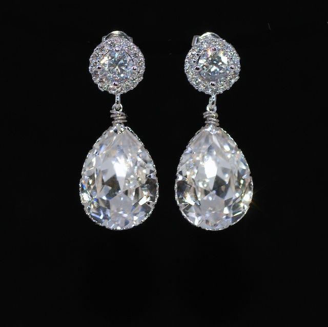 Wedding Earrings, Bridesmaid Earrings, Bridal Jewelry