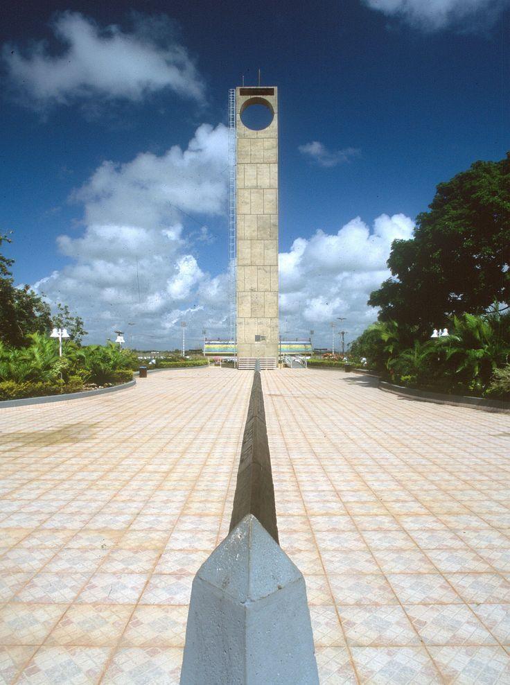 O Marco Zero é um monumento localizado na cidade de Macapá, capital ...