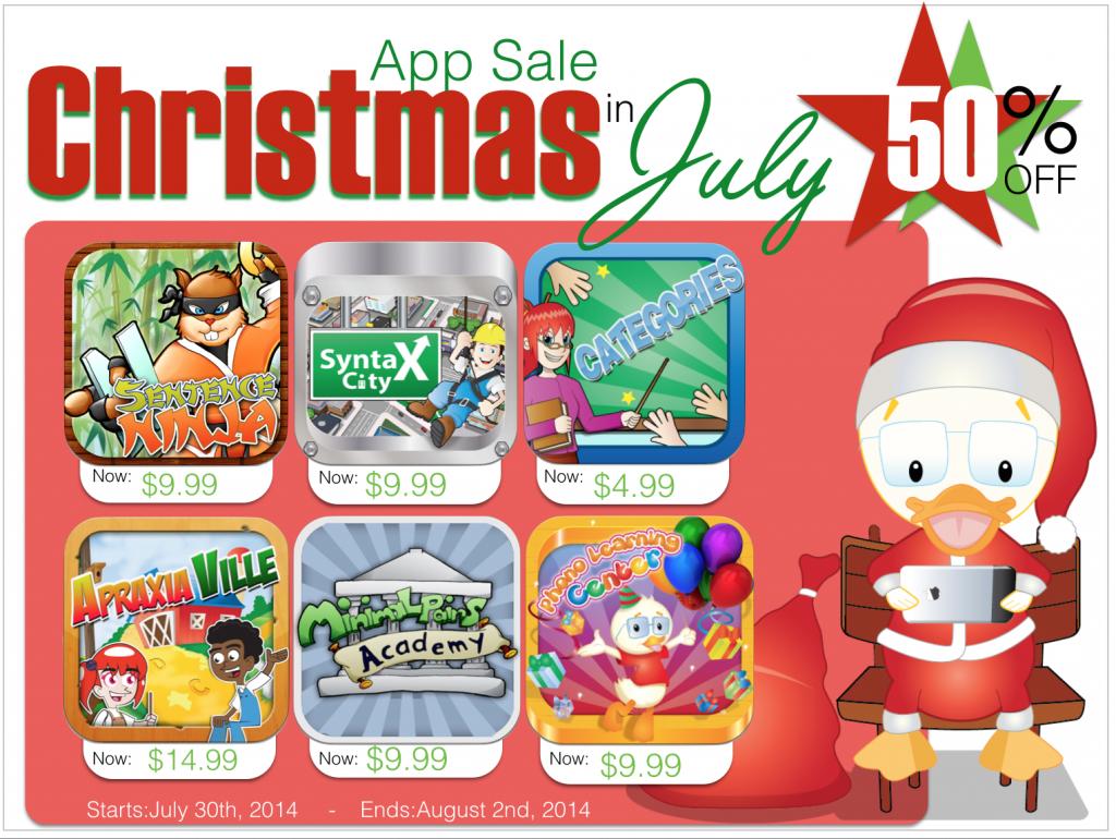 Christmas App Sale