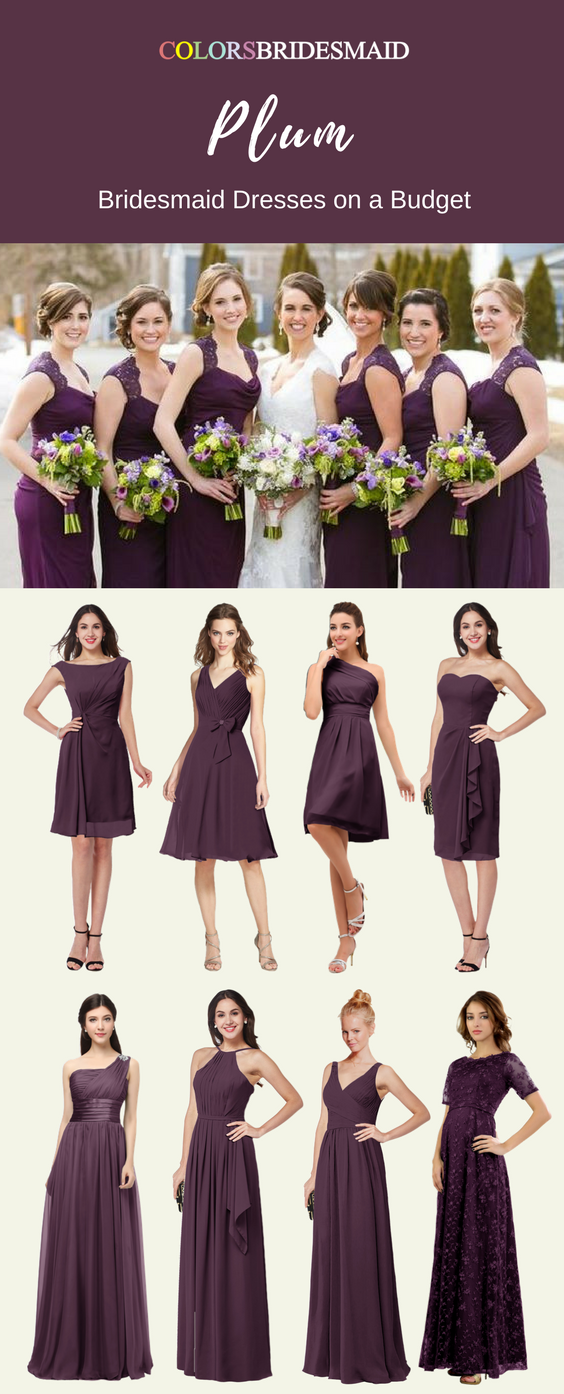 Highly Welcomed Plum Bridesmaid Dresses Here For You Plum