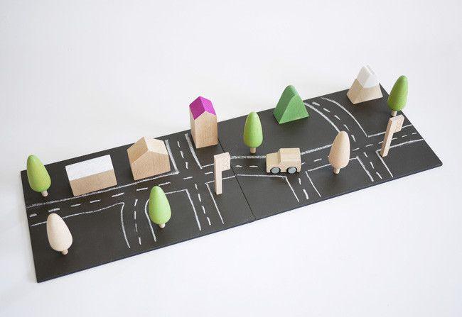 Machi, una ciudad minimalista de juguete