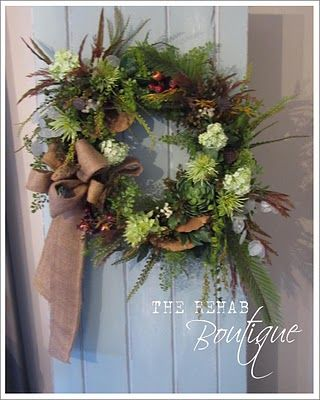 Click on through, shows you all the steps for this wreath.