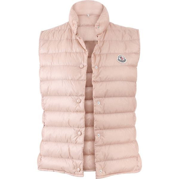 b7d9822dbb39 ... down jacket f0de7 5edff  cheap moncler liane vest 475 liked on polyvore  featuring outerwear vests cefbb ffcd2
