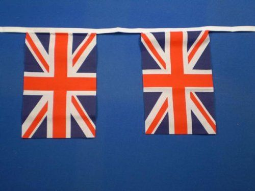 Union Jack (Gt Britain) Flag Bunting 9m by Another Quality product ...