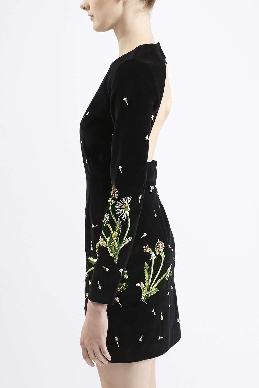 Photo of brunswick velvet cutout dress fashion able