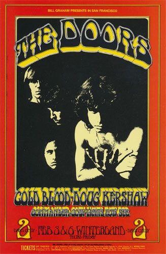 (BG 219) 1970 Doors / Cold Blood / Doug Kershaw / Commander Cody at