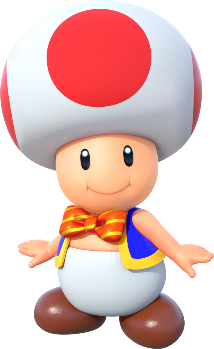 Toad Also Known As Kinopio キノピオ In Japan Is A