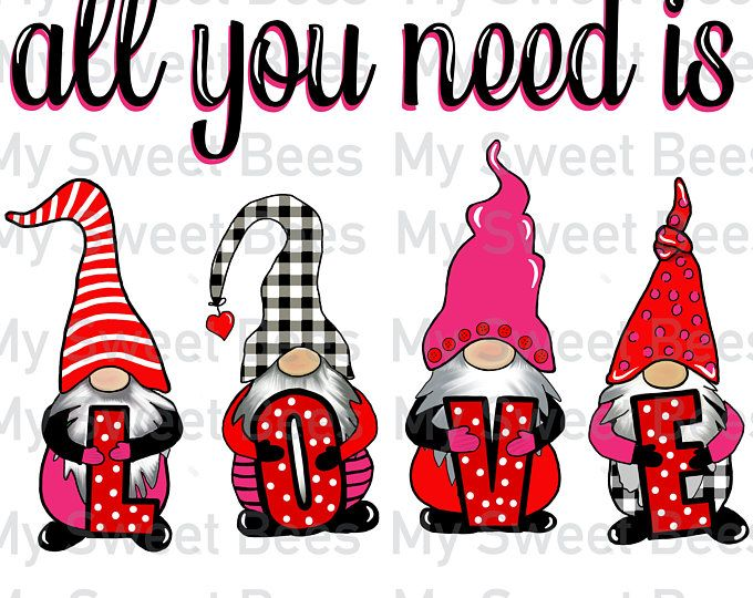 Christmas gnomes clipart. Сute gnomes and holiday