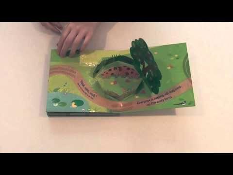 'Playbook Farm' by Corinna Fletcher illustrated by Britta Teckentrup #Oct2012 #PictureBook #PopUp @Nosy Crow