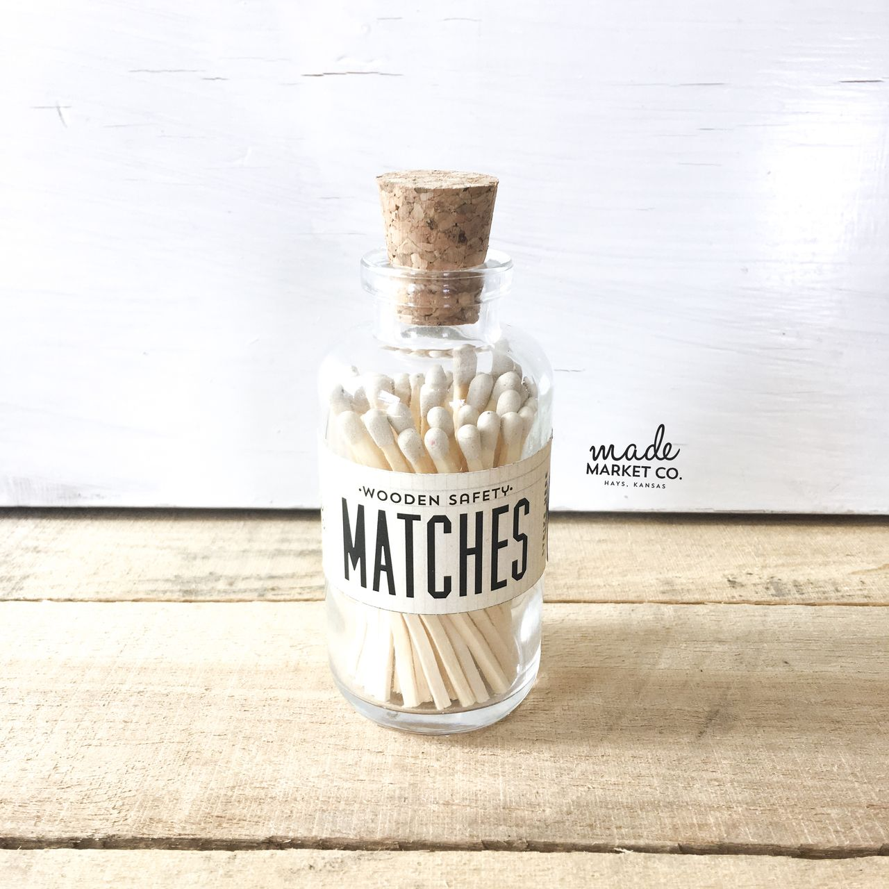 Lavender Tip Colored Matches Unique Gifts for her Best Seller Most Popular Item Farmhouse Home Decor Match Sticks Decorative Glass Bottle