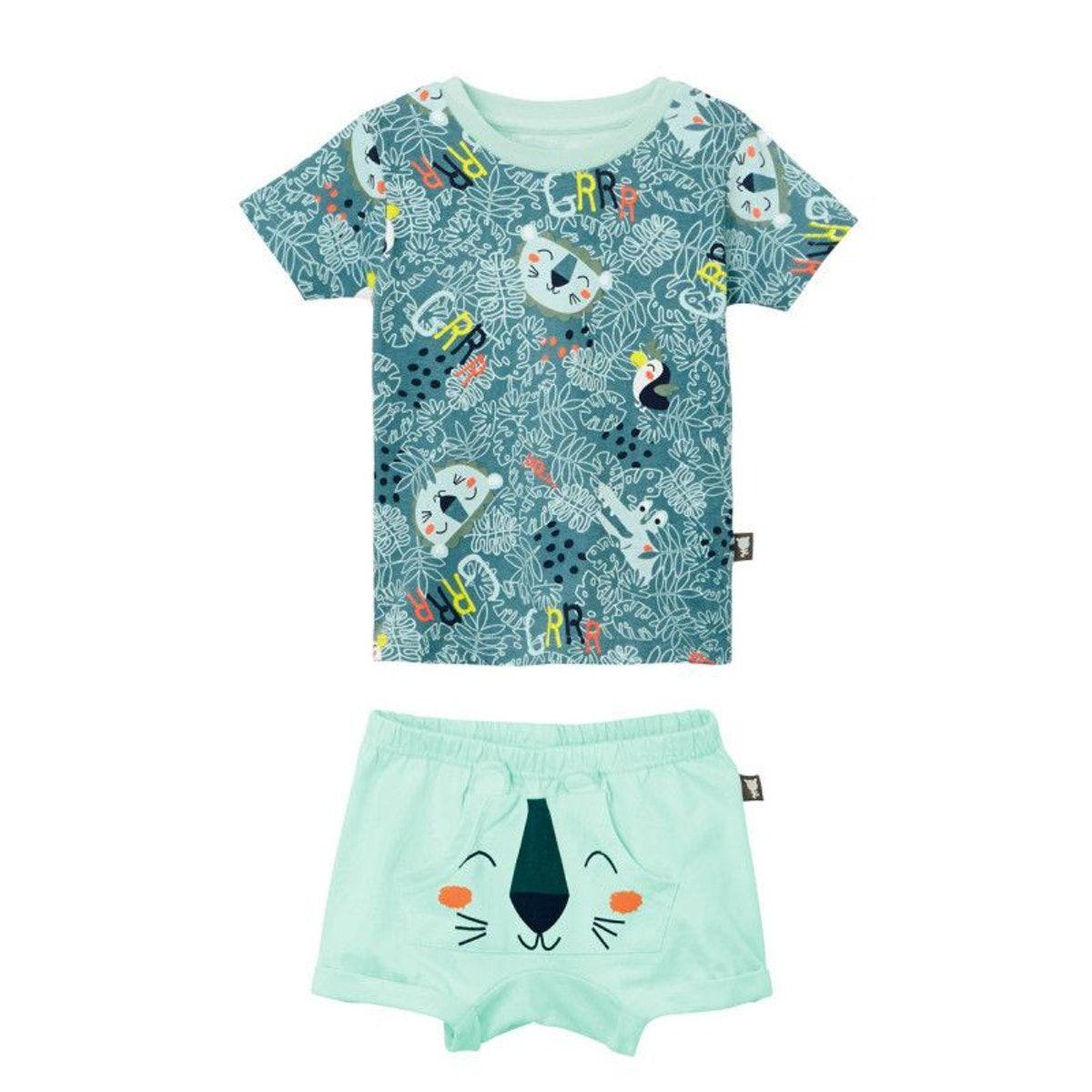 8a6dce0106540 Pyjama Manches Courtes Garçon Camoujungle - Taille : 2 ans;3 ans;4 ans