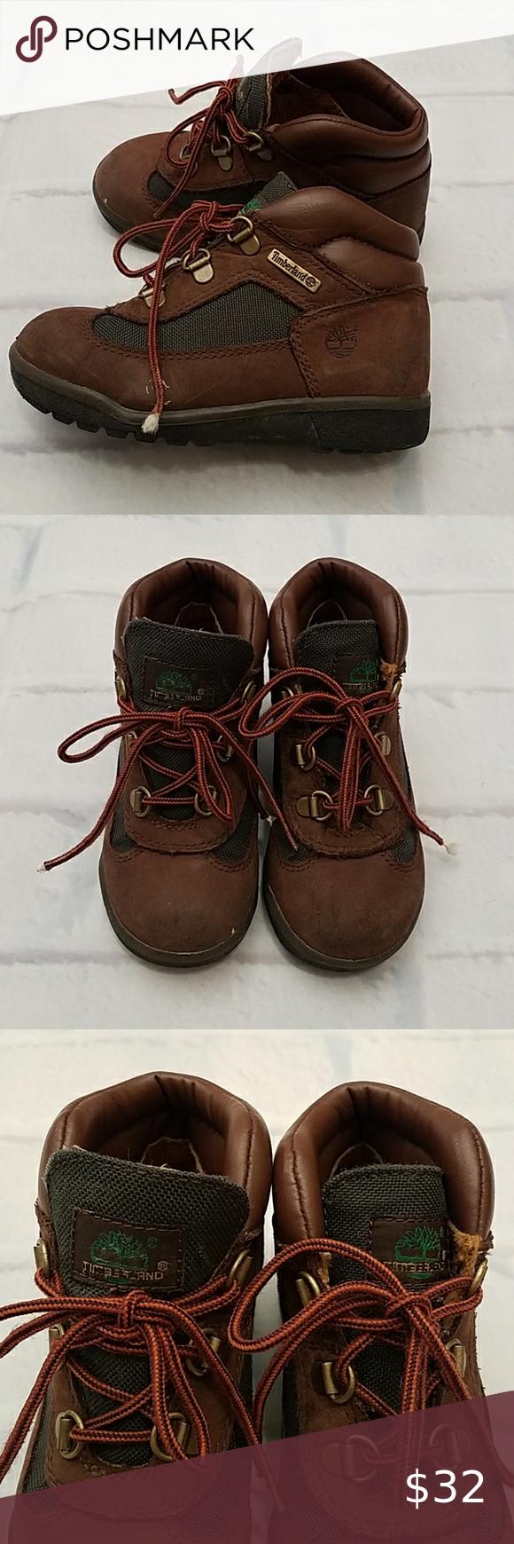 Little Boy's Timberland Hiking Boots