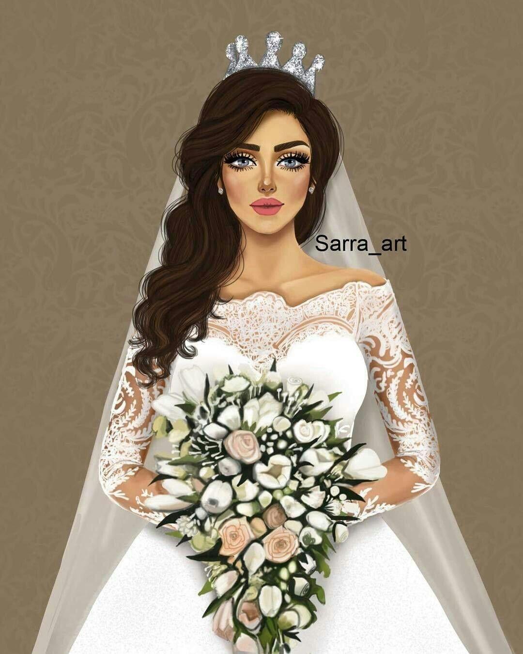 عروس للسرافط Sarra Art Girly Art Digital Art Girl