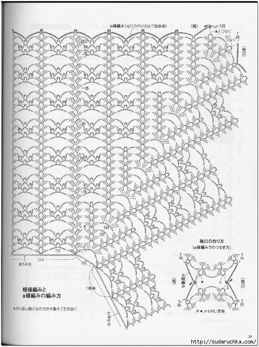 esquema de ganchillo Bolero libre que hace punto | tejidos crochet ...