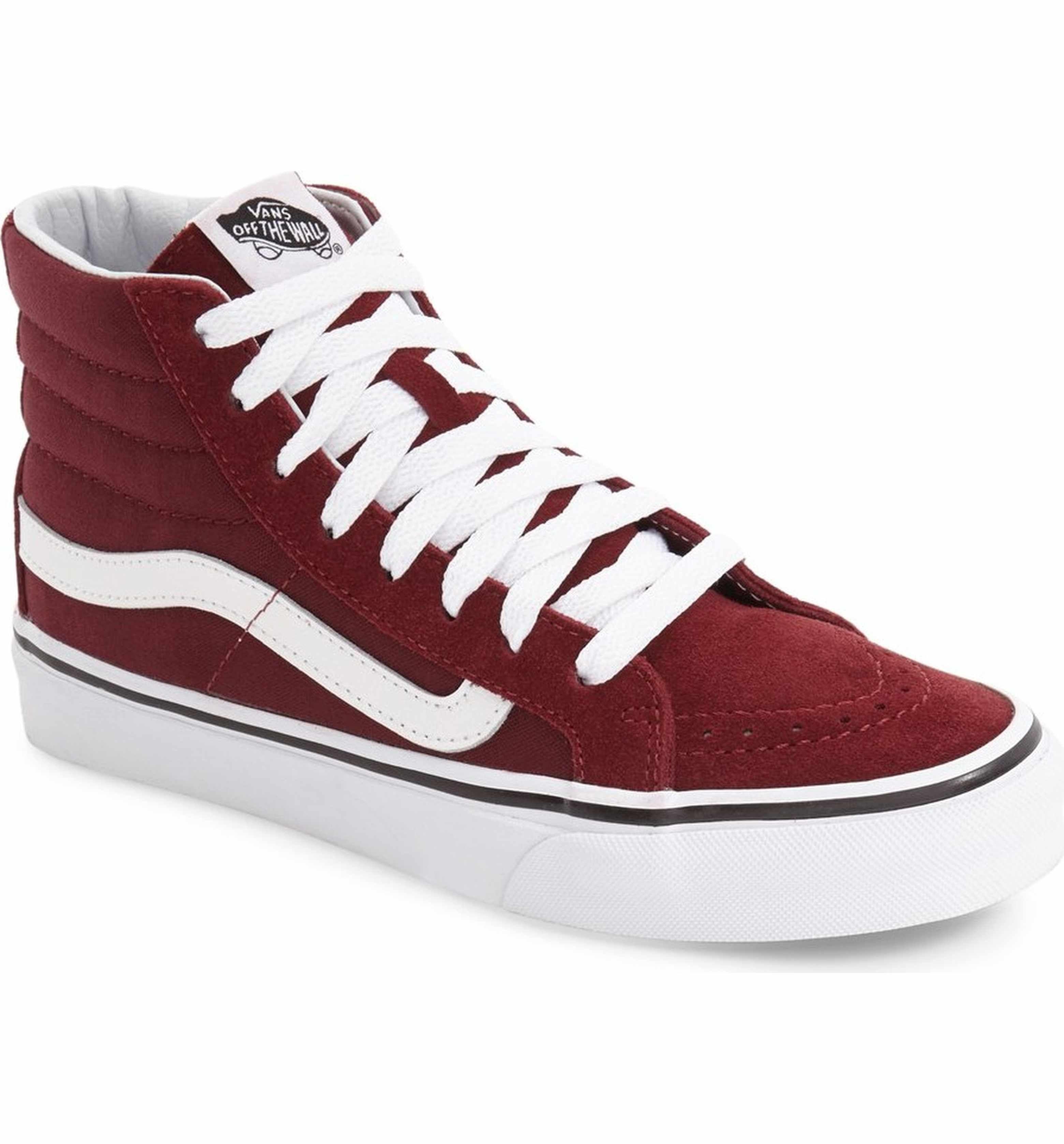 234f5cef2c3600 Vans Sk8-Hi Slim High Top Sneaker (Women)