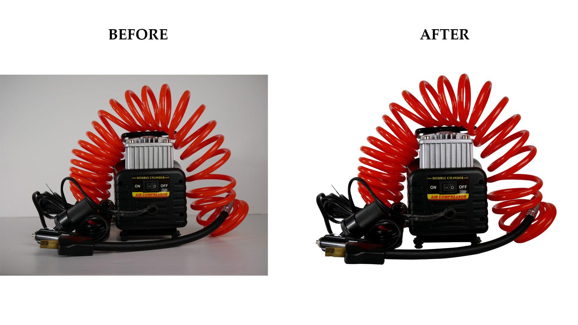 Photo editing service remove white background Color change