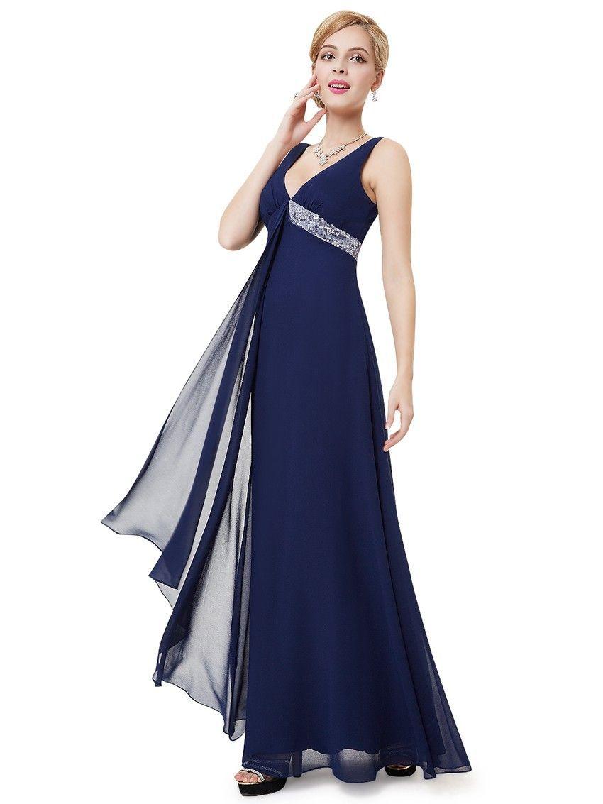 Abendmode / Blaues Abendkleid Online Bestellen  Blaues abendkleid