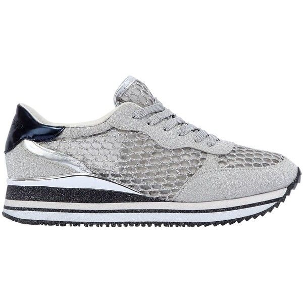 New Styles Cheap Price Best Store To Get Crime 30MM FISHNET & GLITTERED FABRIC SNEAKERS Outlet Extremely Where Can You Find wwIFnzzz