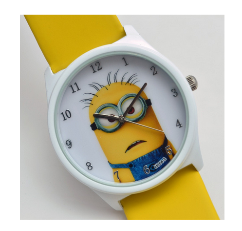 Despicable me minion cartoon watch one in minion pinterest cartoon for Despicable watches