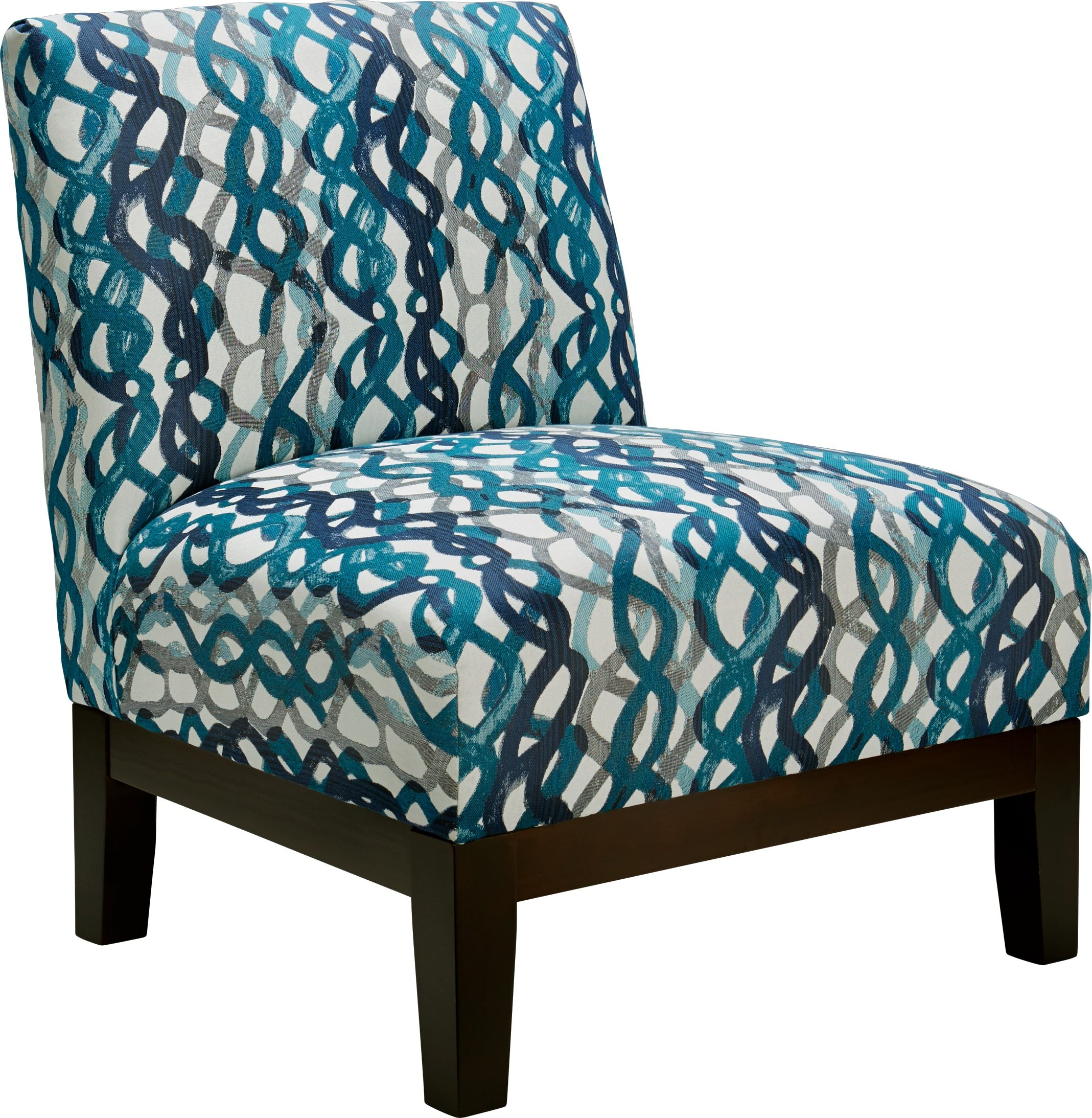 Basque turquoise accent chair 29999 30w x 305d x 35h