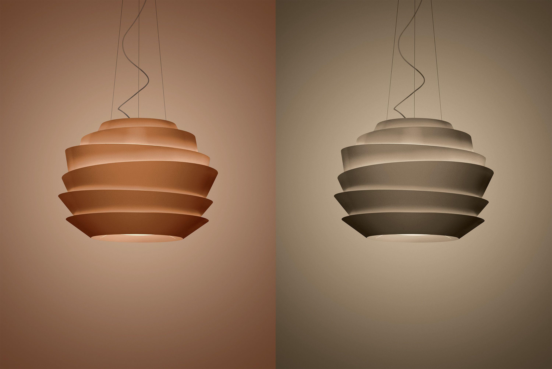 Foscarini Le Soleil Copper And Bronze Suspension Lightform Blog