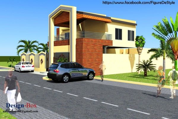 Projet De Construction D Une Villa A Niamey Au Niger