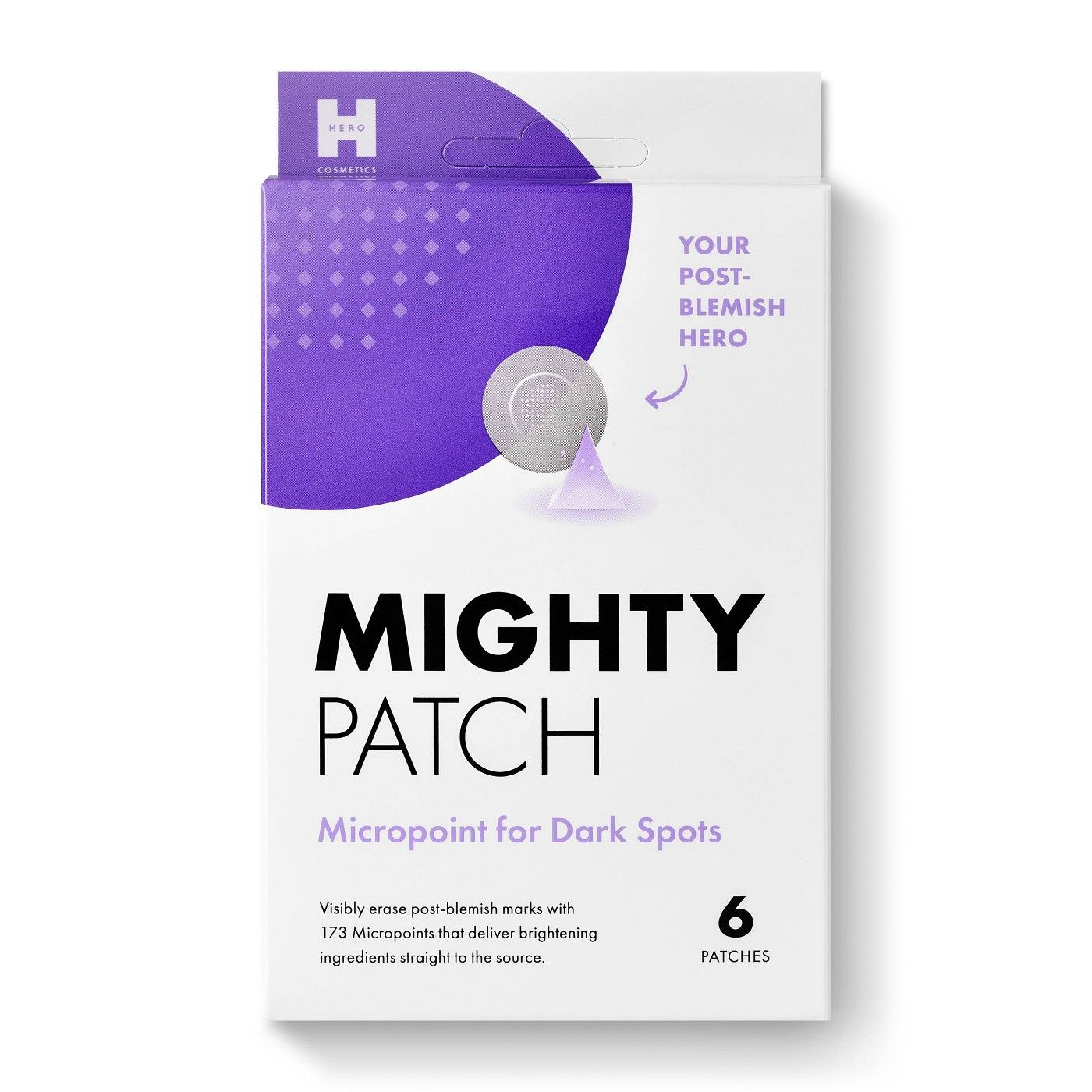 Hero Cosmetics Mighty Acne Patch Micropoint For Dark Spots 6ct Dark Spots Patches Even Out Skin Tone