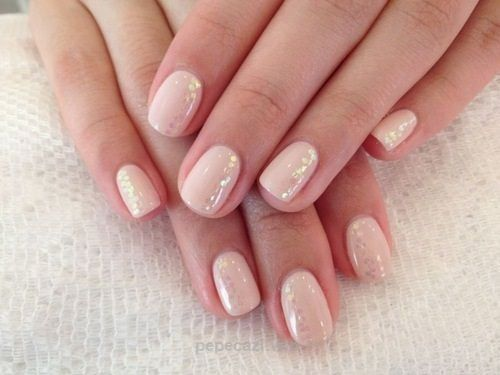 Subtle gel nail designs tumblr gel nails pinterest simple and beauty nude nail designs katty nails prinsesfo Image collections