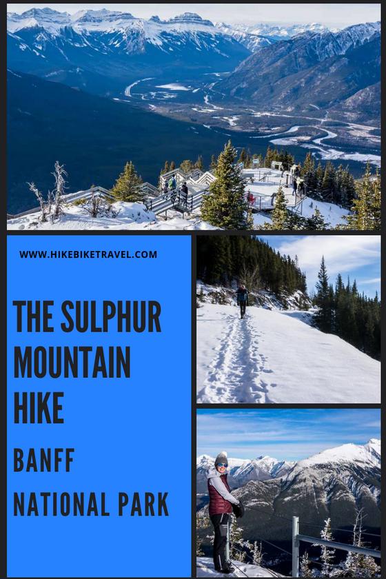 The Sulphur Mountain Hike In Banff National Park Hike Bike Travel Banff National Park Mountain Hiking Sulphur Mountain
