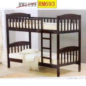 Katil Double Decker Untuk Dijual Harga Murah Budak 2 Tingkat