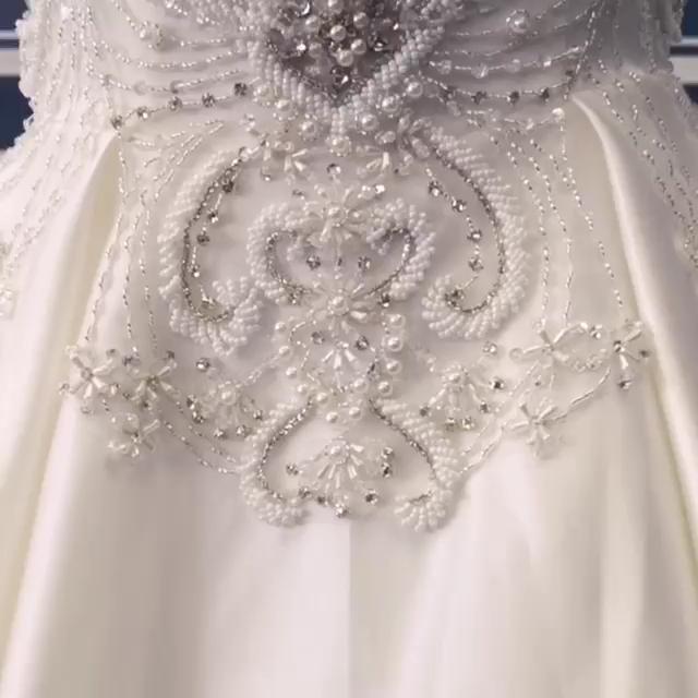 Luxury Wedding Dress Video Luxury Wedding Dress Wedding Dress Accessories Wedding Dresses