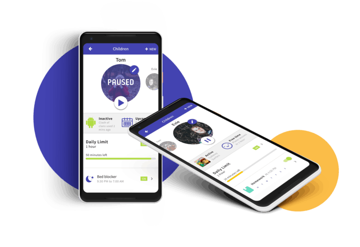 Parental Control app for Android and iOS Parental