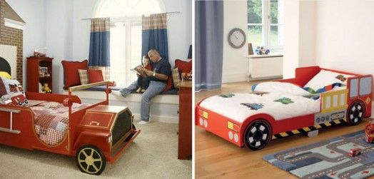 Kinderzimmer Gestalten U2013 20 Kinderbetten Für Coole Jungs Wie Autos Geformt    Kinderzimmer Gestalten Junge Bett Auto Retro Wagen Kidsroom Car Bed