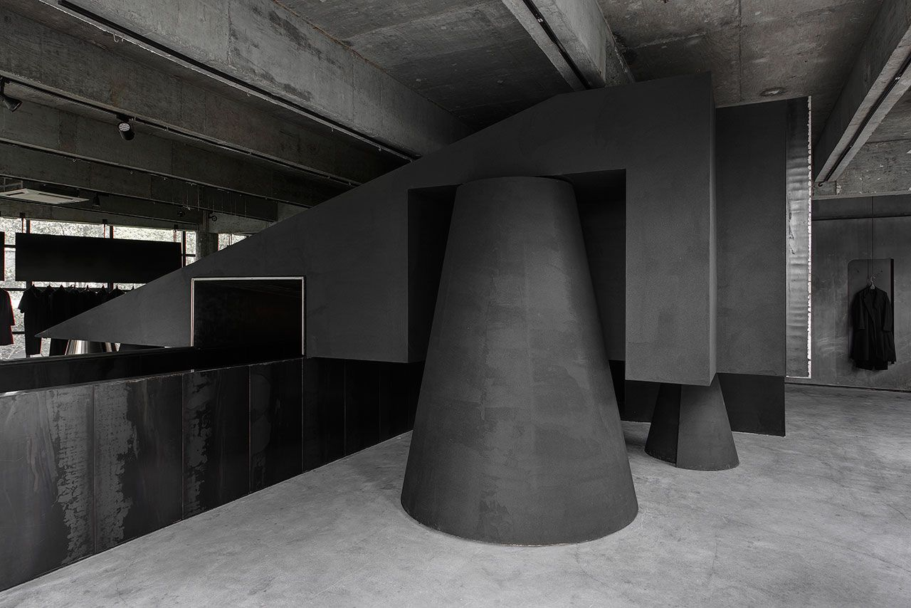 High Quality Black Canvas: HEIKE Concept Store By AN Interior Design | Yatzer